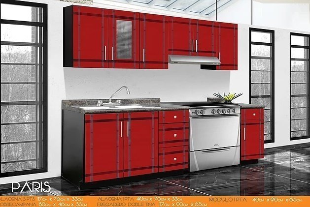 Cocina integral paris endomex for Cocinas integrales por modulos